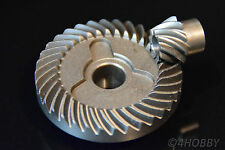 Tellerrad + Ritzel 34-9 Zahnrad Getriebe 11,7 + 7mm Antrieb Zahnräder Stahl 90°