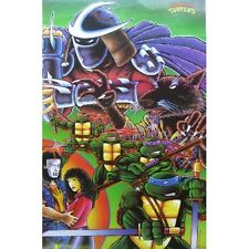 Teenage Mutant Ninja Turtles TMNT - Fox - Original 90's - Retro Poster #TR