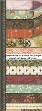 DOVECRAFT SANTORO  WILLOW 6 X 6 SAMPLE PACK - 1 SHEET OF EACH DESIGN 12 SHEETS