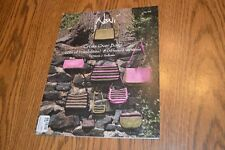 NONI Felted Knitting Pattern 145 by Nora Bellows Cross over bags 8 different bag