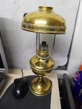 Vintage lampe a petrole cuivre art nouveau KOSMOS BRENNER copper petrol lamp