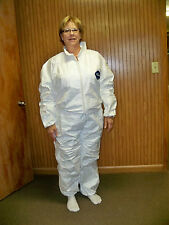 Tyvek Coveralls -  Great for Bee Keeping! Size LARGE (BZ30L)