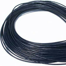 Navy Blue 1.5mm Greek Leather Cord 5 meters #323 Round