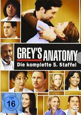 GREY'S ANATOMY, Staffel 5 (7 DVDs) NEU+OVP