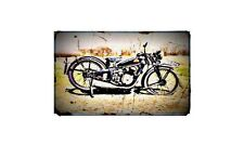 1935 coventry eagle Bike Motorcycle A4 Retro Metal Sign Aluminium