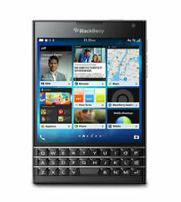 New Sealed BlackBerry Passport 32GB - Black (Unlocked) Smartphone USA SQW100-1