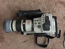 Canon L1 Hi 8 Camcorder Canovision 8mm With Mic & Zoom Lens