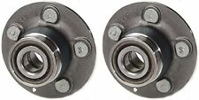 Hub Bearing Assembly for 1999 Dodge Stratus Without ABS-Rear Pair