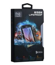 New in Box 100% OEM LifeProof Samsung Galaxy S6 Black fre Waterproof Cover Case