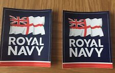 MILITARY LAND ROVER DECAL X2 ROYAL NAVY