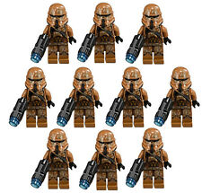 10 NEW LEGO STAR WARS GEONOSIS CLONE TROOPER MINIFIG LOT 75089 storm figure