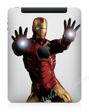 Iron Man Ironman Apple iPad 1 2 3 4 Air Cover Decal Sticker Skin Decals IMIPAD