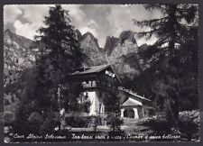 BELLUNO SELVA DI CADORE 04 Fraz. SANTA FOSCA Cartolina FOTOGRAFICA viagg. 1953