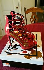 LUST FOR LIFE Cage Coral Women Size 8.5M Heels Pumps NEW IN BOX LFL
