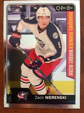2016-17 UD Hockey Series 2 Opee Chee Marquee RC Zach Werenski #678Silver