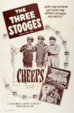 """The Three Stooges in Creeps Movie Poster Replica 13x19"""" Photo Print"""