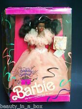 Birthday Surprise Barbie Doll African American AA