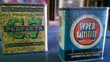 Due scatole in latta  di polvere da sparo  vuote
