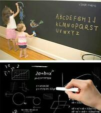 Blackboard Paper Chalkboard Removable Vinyl Wall Sticker Draw Mural Decals