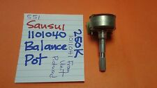 SANSUI 1101041 BALANCE POT 250K 551 RECEIVER