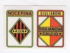 figurina CALCIATORI CALCIO FLASH 1985 SCUDETTO NOCERINA, GIULIANOVA