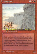 Muro di pietra (Wall of Stone) Magic limited black bordered German Beta FBB Foreign