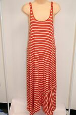 New Volcom Swimsuit Bikini Cover Up Maxi Dress Size M 12 Orange