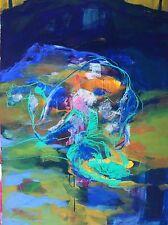 Jung en 1969 kim corea abstracto imagen en color. con en la página mujer cerrados p 29