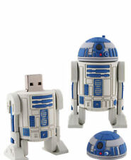 R2D2 8GB USB FLASH DRIVE STAR WARS/THE FORCE AWAKENS/ MEMORY STICK/ SCI-FI