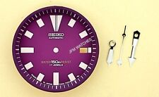 NEW SEIKO PURPLE DIAL HANDS MINUTE TRACK SET FOR SEIKO 7002 7000 WATCH NR#219