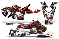 SIKSPAK Sled Wrap Polaris Axys Snowmobile Graphics Sticker Kit 2015+ REBIRTH