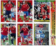 N°4 ESPANA WE ARE THE CHAMPIONS SPECIAL EDITION RARE!! STICKERS EURO 2012 PANINI