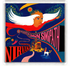 NIRVANA - THE STORY OF SIMON SIMOPATH LP COVER FRIDGE MAGNET IMAN NEVERA