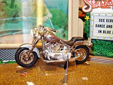 HOT WHEELS HARLEY DAVIDSON FATBOY MOTORCYCLE LIMITED EDITION 1/64 CRUISER
