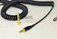 black Replacement cord Cable For pioneer  HDJ 2000 RHP 20  Headphones