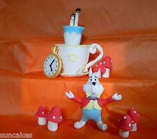 Alice in Wonderland Edible sugar paste decoration cake topper birthday