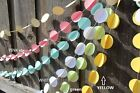 4M X Double Circle Paper Garland Bunting Drop for Party Baby Shower Wedding