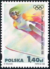 Polska Poland 1998 Fi 3542 Mi 3690 MNH XVIII Zimowe Igrzyska Olimpijskie w Nagan