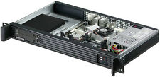 "1U ITX(2x SATA / SAS Hot-Swap 2.5"" HDDs Box)Rackmount Chassis (D:9.84"" Case) NEW"