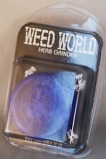 Original Weed World [ PURPLE ] Herb grinder [ New & Sealed ]