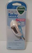 Brand NEW Vicks Pediatric Baby Rectal Thermometer