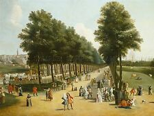 MARCO RICCI VIEW MALL SAINT JAMES PARK OLD ART PAINTING POSTER PRINT BB4973A
