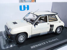 RENAULT 5 TURBO 2 BLANCO NACARADO PEARL WHITE 1/18 UNIVERSAL HOBBIES