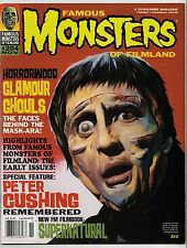 FAMOUS MONSTERS #204 NOV 1994 DYNACOMM PUBLISHING - PETER CUSHING SPECIAL