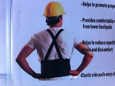 NEW XX-Large Lift Lumbar Lower Back Waist Support Belt Brace Suspenders for Work
