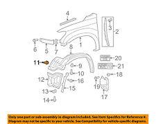 TOYOTA OEM-Fender Liner Splash Shield Push Clip Retainer Blind Rivet 9046707201