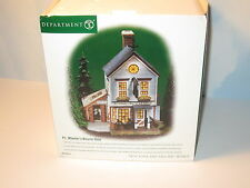 Department 56 New England Village P.L Wheeler's Bicycle Shop 56613 MIB