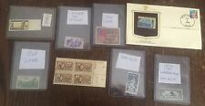 Large Collection Unique & Rare Assorted Stamps World, Hitler Babe Ruth Etc