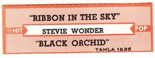 Juke Box Strip Stevie Wonder - Ribbon In The Sky / Black Orchid