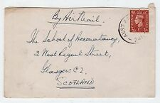 GB - AUSTRALIA: 1948 cover to Scotland with AUST ARMY POST OFFICE pmk (C23663)